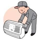 買ったらエアコンの工事が基本。やらないと動かない